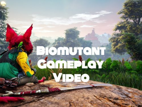 Biomutant game