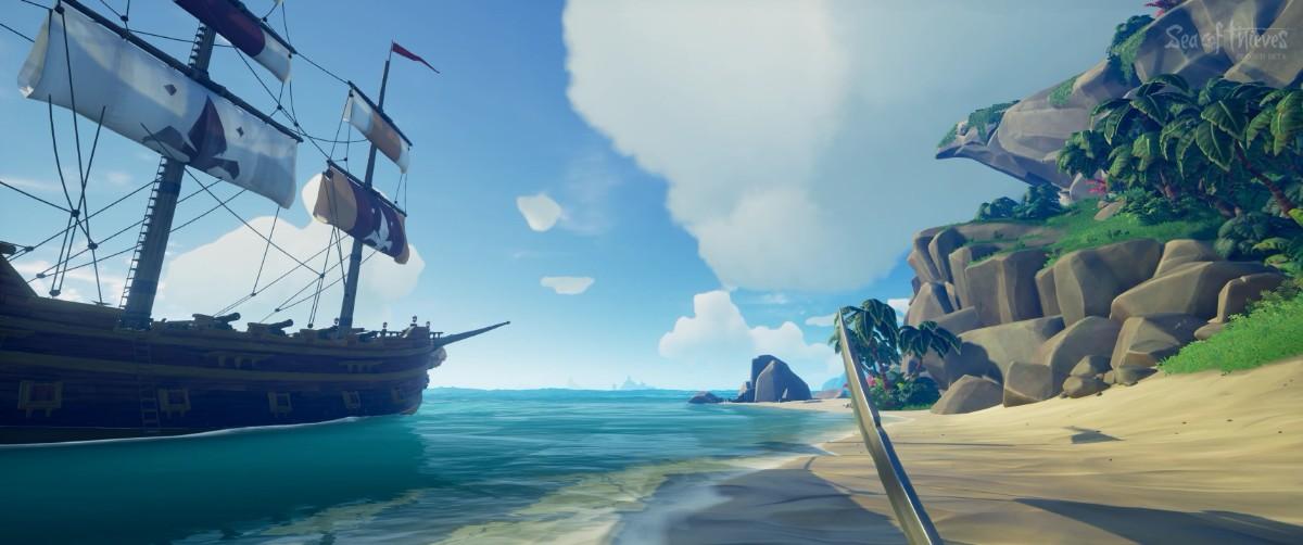 Sea of Thieves, le MMO-like de piraterie signé Rare vous permettra d'inviter jusqu'à trois amis à vous rejoindre gratuitement sur votre navire ce week-end. Que vous jouiez sur PC ou Xbox One, via un abonnement Xbox Game Pass ou que vous ayez acheté le jeu, il vous suffit de vous rendre à cette adresse pour récupérer vos codes d'invitation à partager.