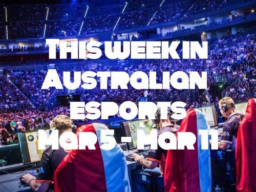 australian esports banner