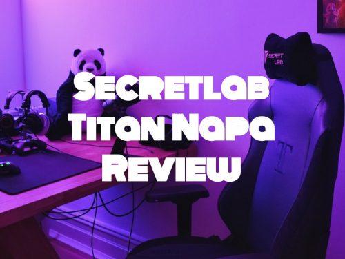 Secretlab Titan Napa
